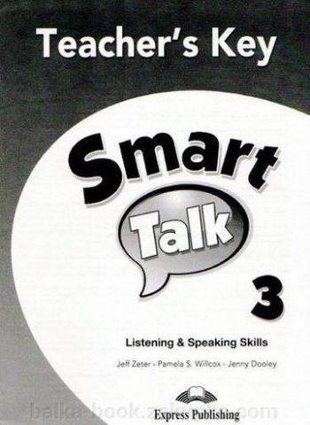 Smart Talk 3 Listening Speaking Skills — книга для учителя