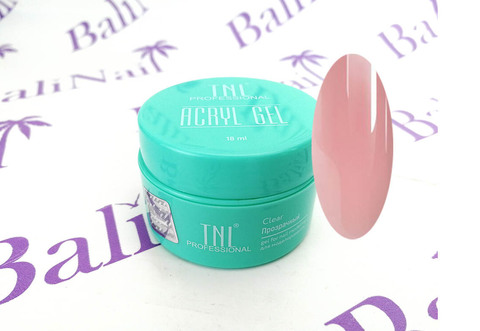 Acryl Gel TNL №09 камуфлирующий розовый парфе (18 мл.)