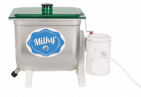 Домашняя маслобойка для сливочного масла, электрическая Milky FJ 10, фото