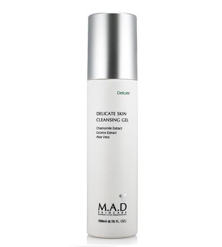 Гель очищающий для чувствительной кожи M.A.D Skincare Delicate Skin Cleansing Gel, 200 мл