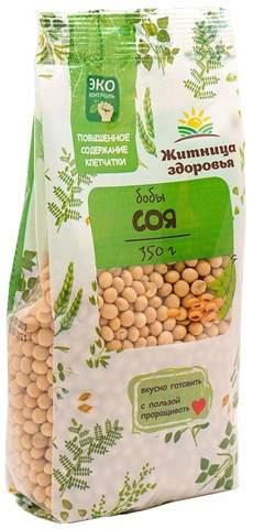Соя российская без ГМО 350 гр.