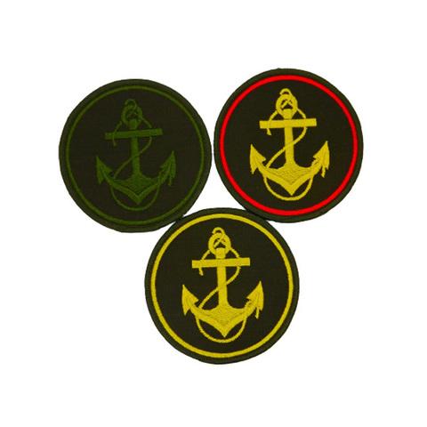 Шеврон нарукавный круглый Морская пехота