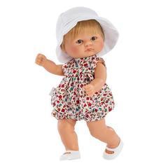 ASI Кукла-пупсик в панамке, 20 см (114211)