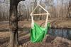 Гамак кресло из льна зеленый RGK5ZEL