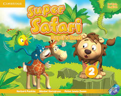 Super Safari 2 Pupil's Book with DVD-ROM
