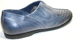 Летние мужские туфли спортивные, кожаные Luciano Bellini