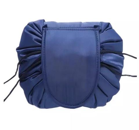 Женская косметичка-органайзер Travel Beauty bag Dark blue