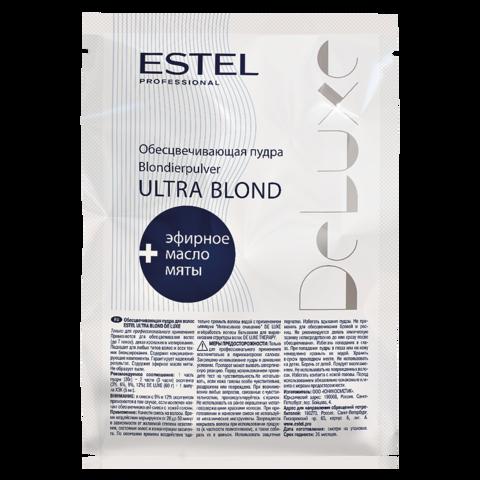 Обесцвечивающая пудра для волос DE LUXE ULTRA BLOND, 30 г