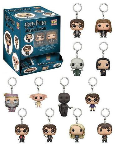 Брелок Funko Pocket POP! Keychain: Harry Potter Blindbags: 24pc PDQ