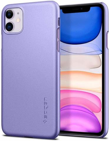 Чехол-накладка SPIGEN для iPhone 11 - Thin Fit - Purple