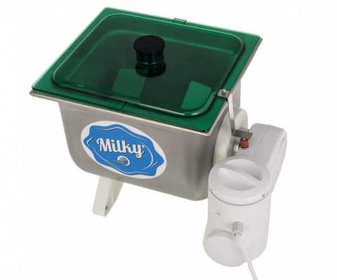 Бытовая электрическая маслобойка с прозрачной крышкой, фото
