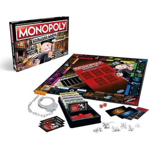 Игра настольная монополия Большая афера