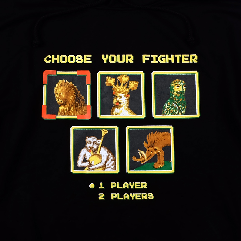 Choose your fighter / худи