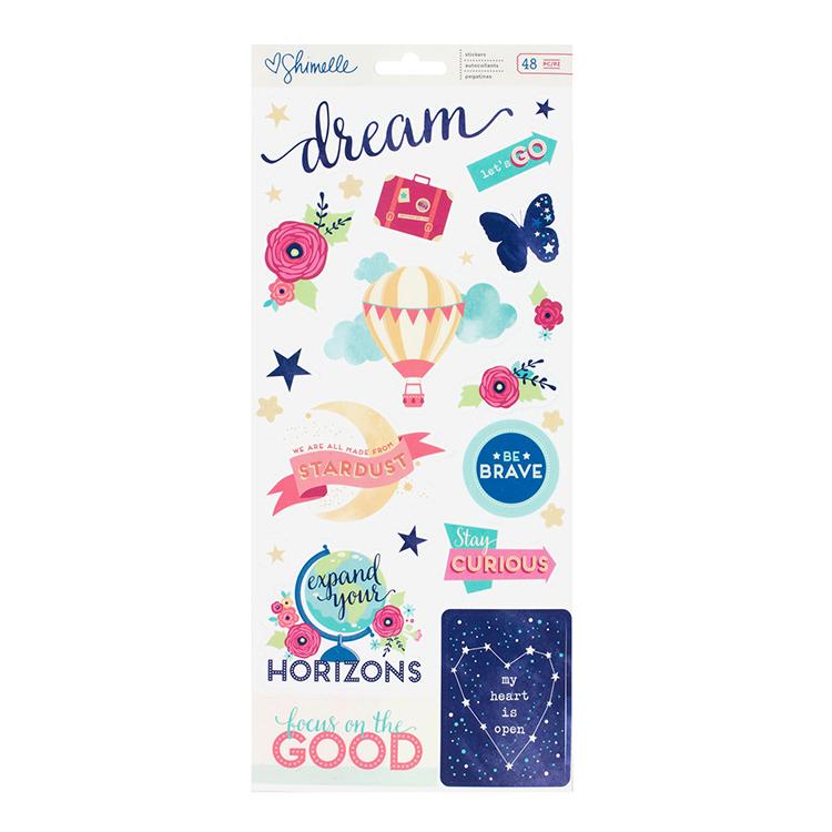 Стикеры   Shimelle Starshine by American Crafts