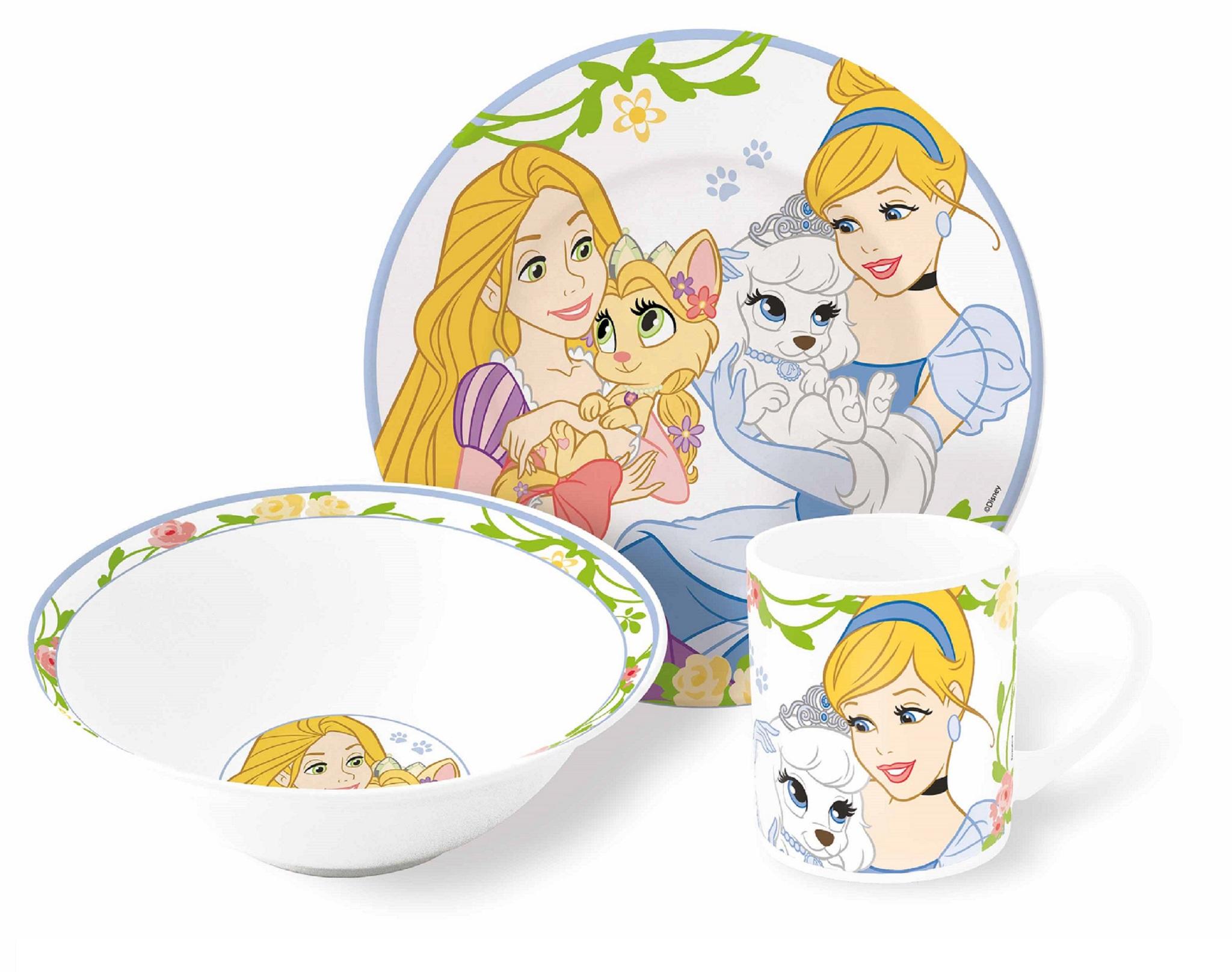 Королевские питомцы Набор керамической посуды — Posuda Pets