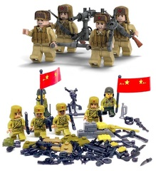 Минифигурки Военных Китайская Армия Союзники серия 149