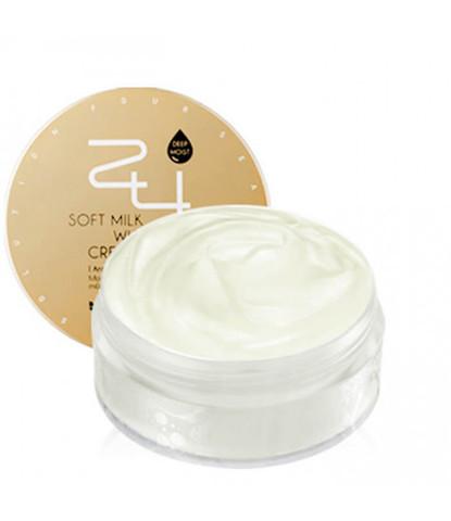 Увлажняющий крем Mizon 24 Soft Milk Whipping cream