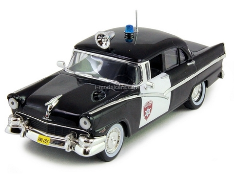 Ford Fairlane Oakland Detroit USA 1:43 DeAgostini World's Police Car #1