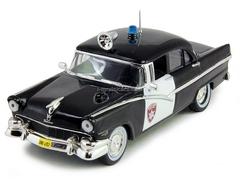Ford Fairlane Oakland Detroit USA 1:43 DeAgostini World's Police Car #1