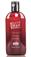 Укрепляющий шампунь для нормальных волос для мужчин Lisap Man Densifying Shampoo For Normal Hair 250 мл