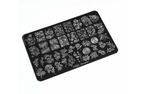 Пластина LESLY 9,5x14,5см Flowerbed 1