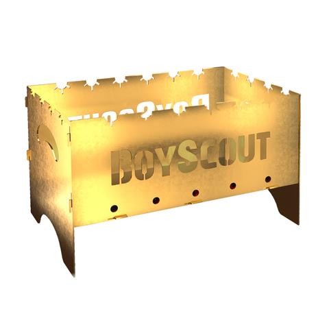Мангал складной GOLD, с сумкой  500х300х300х1,5 мм, BOYSCOUT