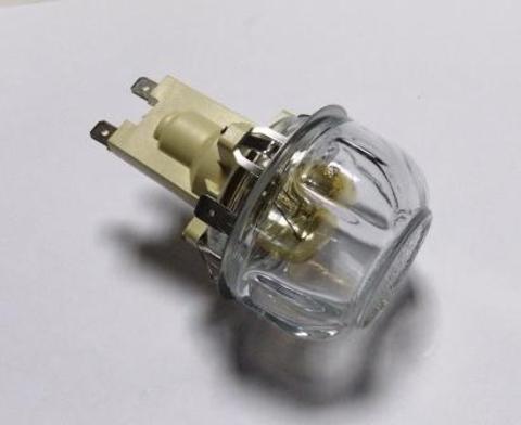 Лампа подсветки духового шкафа с цоколем и плафоном для плит Электролюкс 3890793346