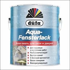 Эмаль для окон Dufa AQUA-FENSTERLACK (Белый)
