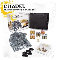 Citadel Texture Paints & Base Set
