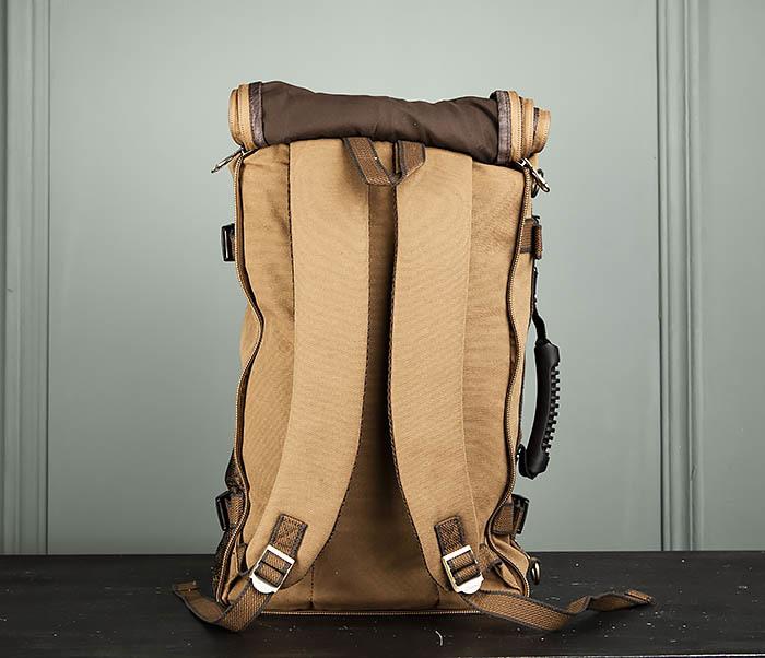 BAG365-2 Рюкзак-трансформер из плотного текстиля фото 09