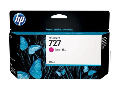 Оригинальный картридж струйный HP F9J77A (727), пурпурный