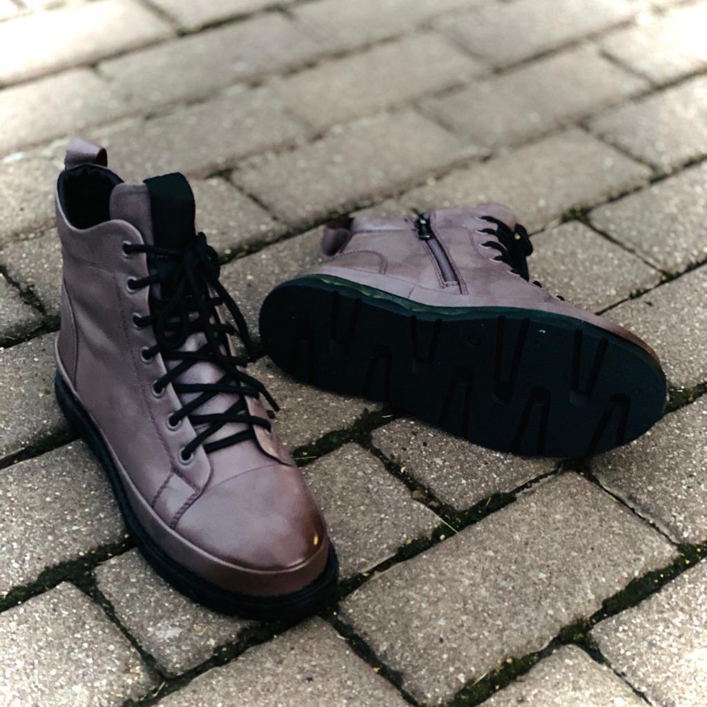 Madella Ботинки MAD-02442-1L-KB фиолет
