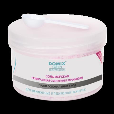 DOMIX, соль морская для маникюрных и педикюрных ванночек, 500г