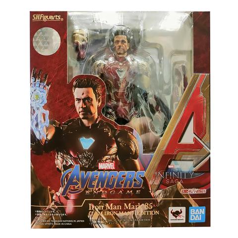 Фигурка S.H.Figuarts Avengers: Endgame Ironman Mark 85 I am Iron Man Edition