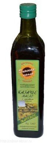 Масло Подсолнечное Казачье с луком  0,75л (Донская капля)