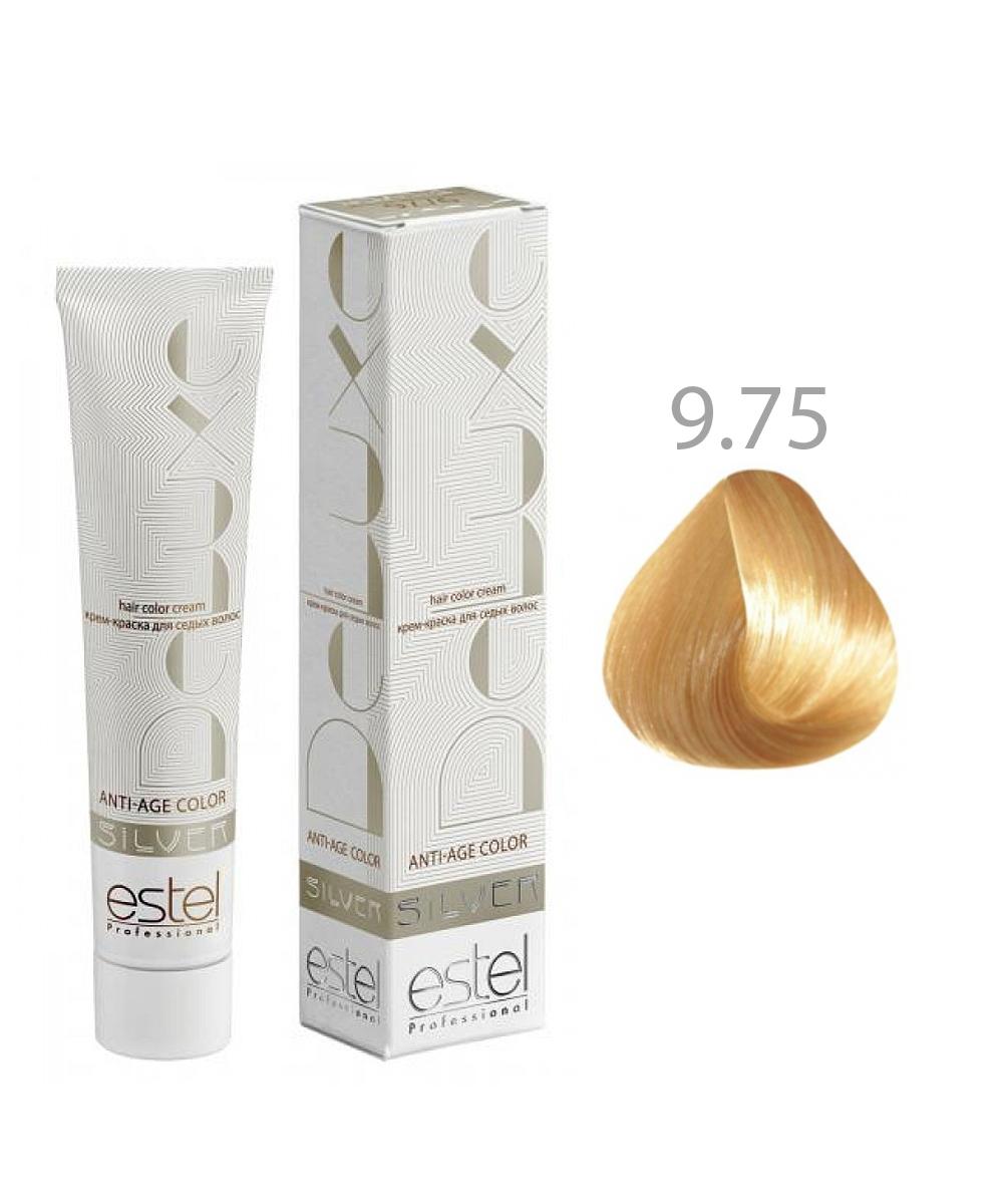 Крем-краска для седых волос