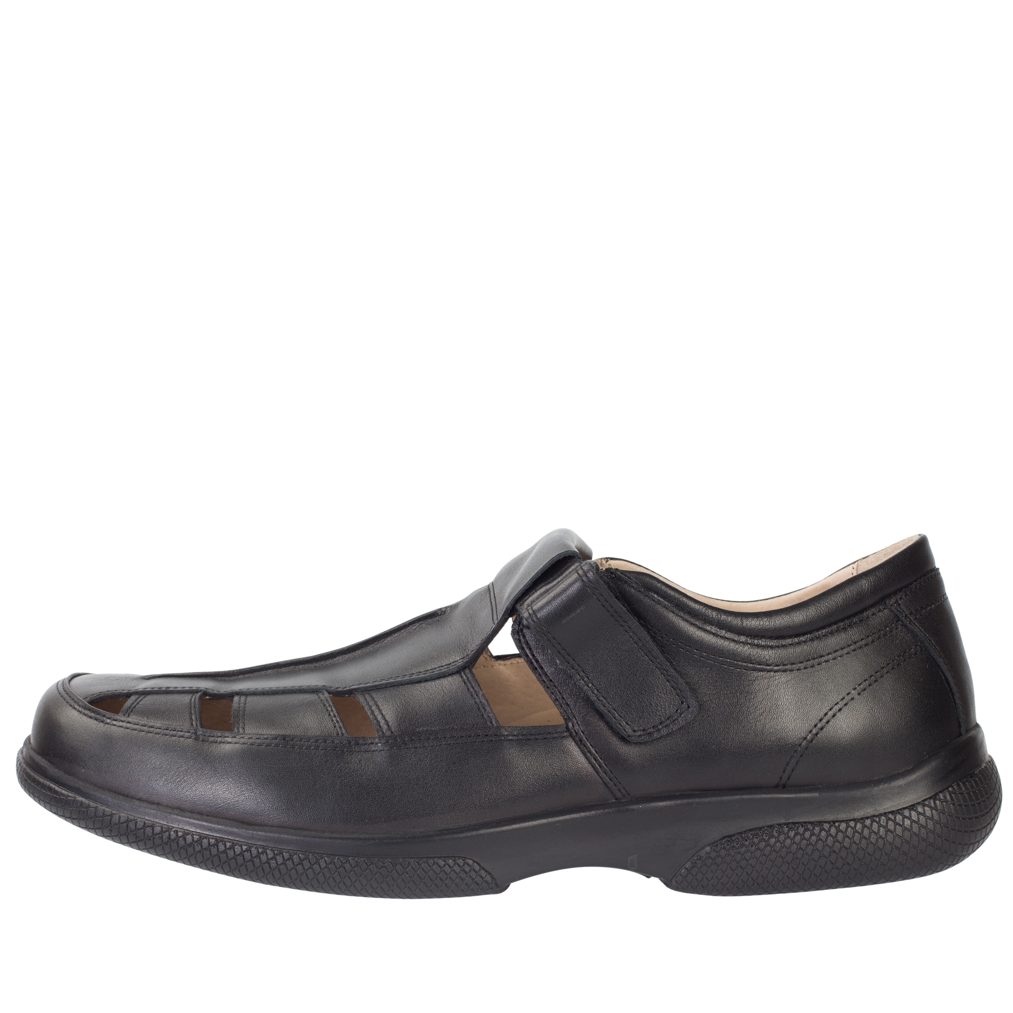 529367 сандалии мужские больших размеров марки Делфино
