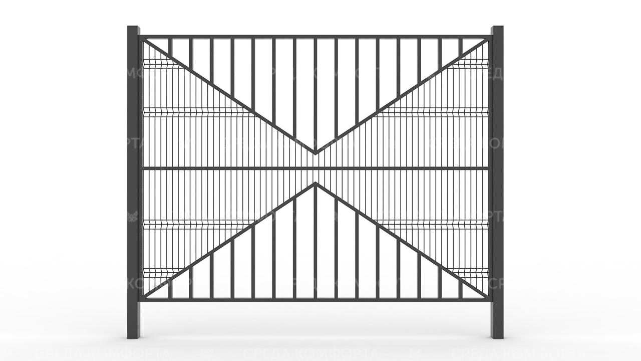 Забор 3Д ZBR0078