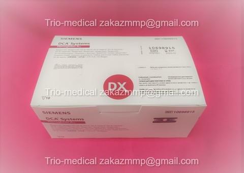 10698915 Набор для определения гликозилированного гемоглобина (Hemoglobin A1c) DCA 2000/DCA Vantage (Вантаж) Siemens Healthcare Diagnostics, Inc, США