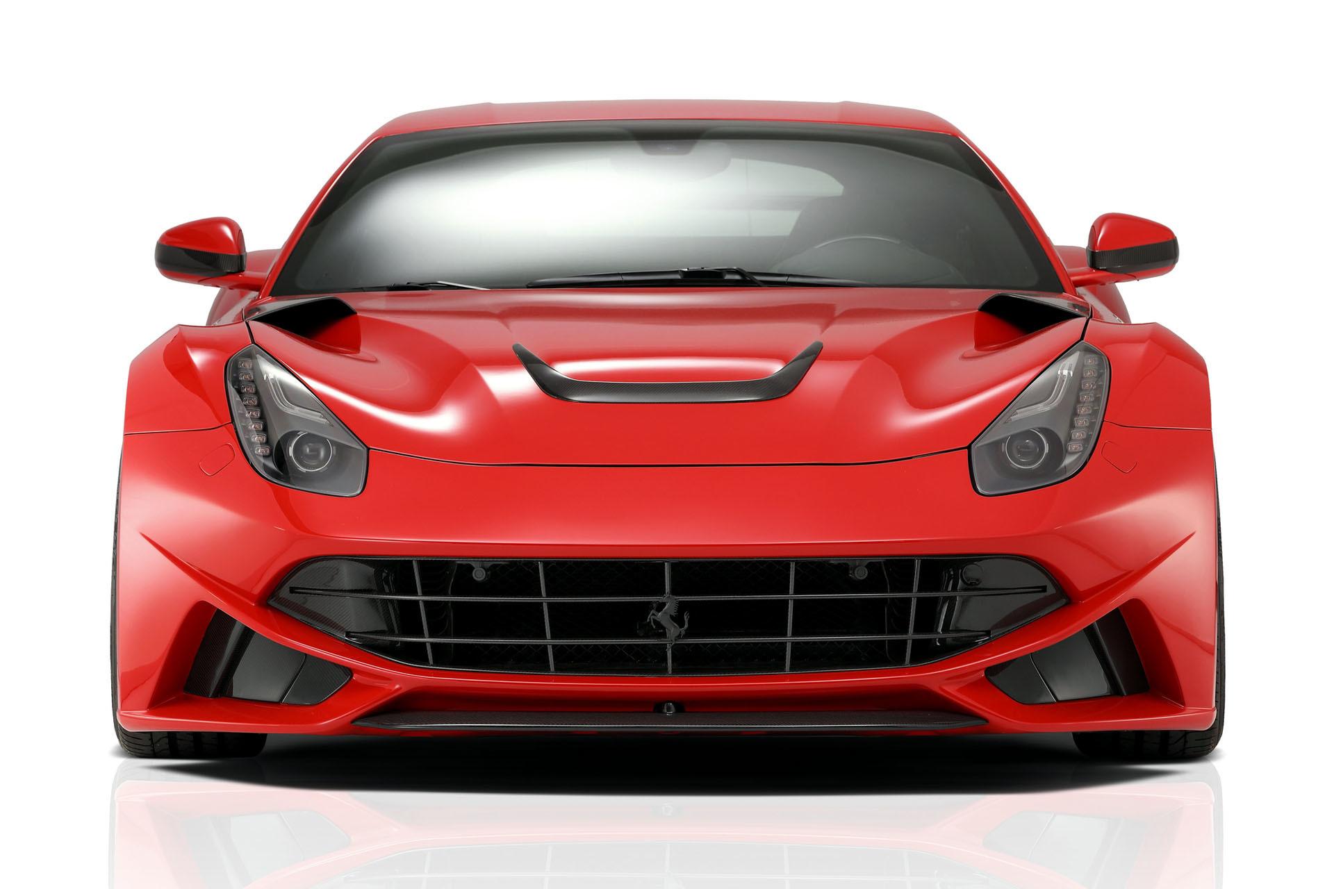 Карбоновая решетка радиатора под камеру Novitec Style для Ferrari F12 Вerlinetta