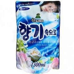Кондиционер для белья Sandokkaebi Soft Aroma Aqua Blue Свежесть океана 1,3 л