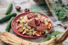 Тушёное мясо кабана с чёрным перцем, 200г eco-apple.ru