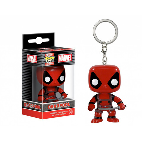 Брелок Дэдпул || POP! Keychain Deadpool Bobble-Head