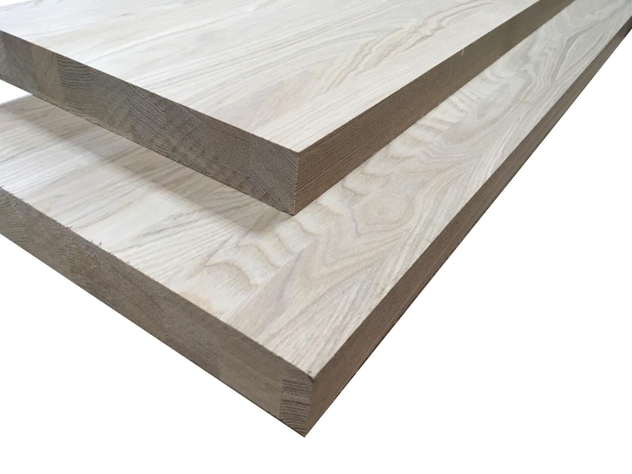 Мебельный щит из ясеня цельноламельного 40х600х2600 мм