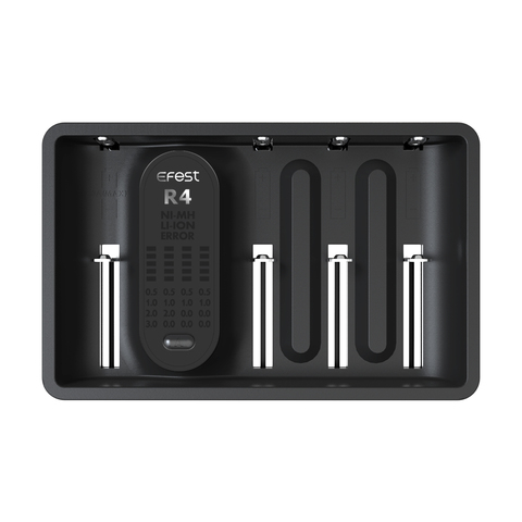 Зарядное устройство Efest Imate R4 для Li-ion, NiMH аккумуляторов