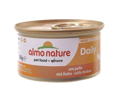Консервы (банка) Almo Nature Daily Menu mousse Chicken