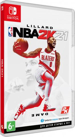 NBA 2K21 (Nintendo Switch, английская версия)