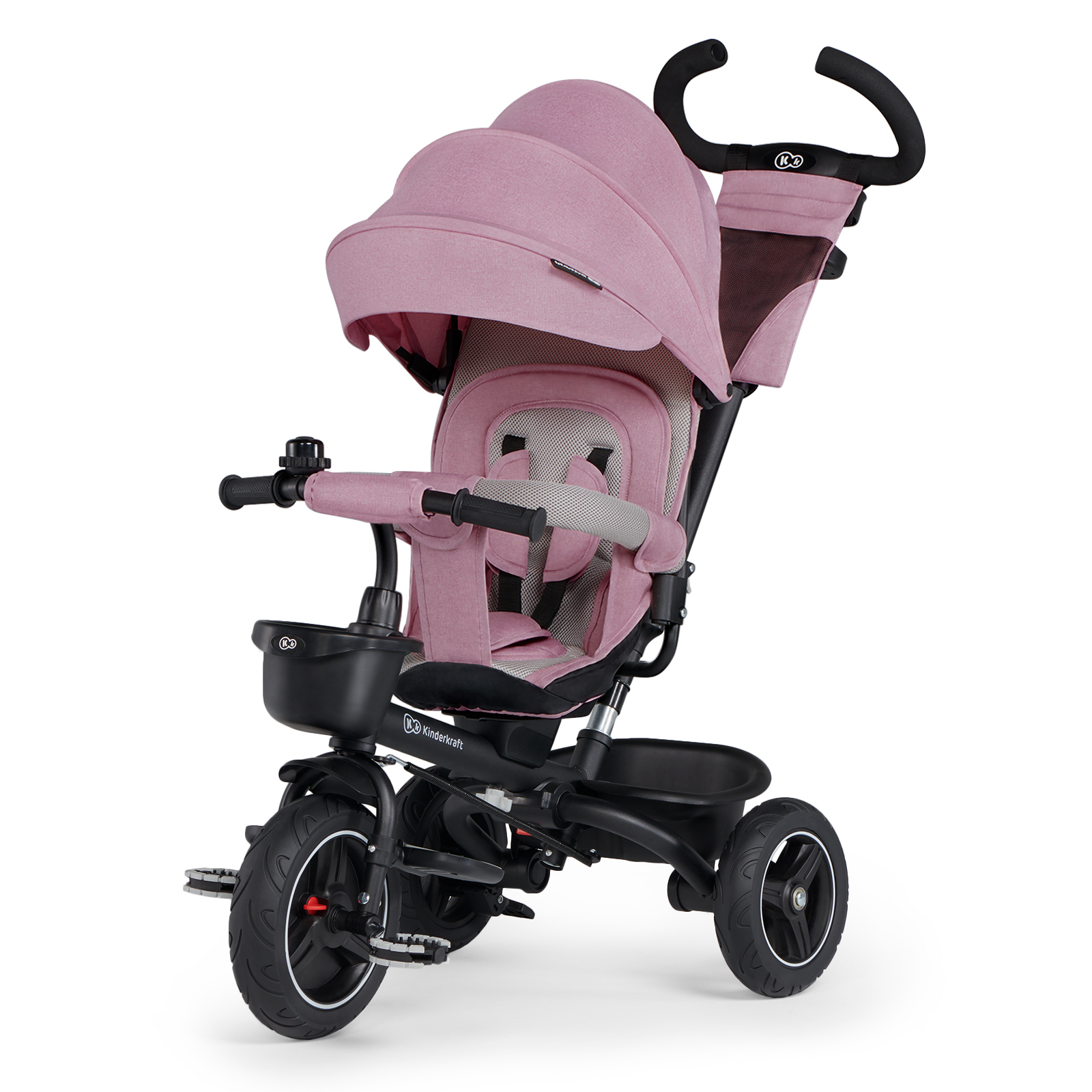 Велосипед Kinderkraft Spinstep Mauvelous Pink складной