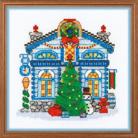 Набор для вышивания крестом «Ледяной домик» (1662)