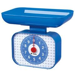 Весы бытовые настольные 10 кг DELTA КСА-105 с чашей синие